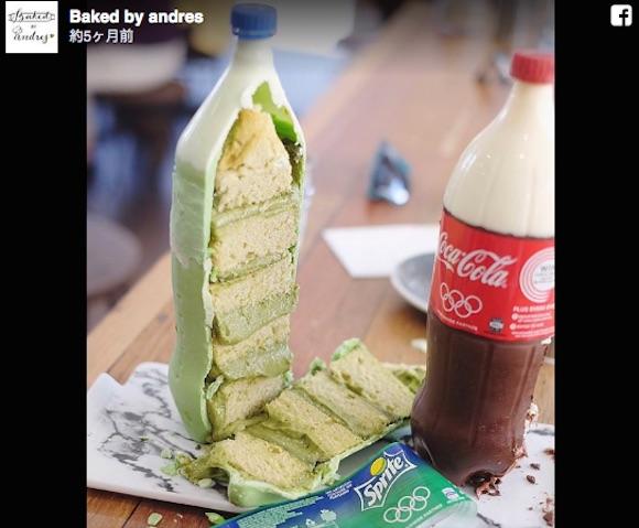 ジュースのペットボトルかと思ったら…実はケーキ! 本物そっくりな「Soda cake」のクオリティーがスンゴイ