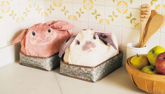 ウサギが増えるたびに部屋が片付くとな!? ウサギを飼ってる気分になれる収納ケースが誕生 / ゴチャゴチャしがちな小物を隠せるよ!