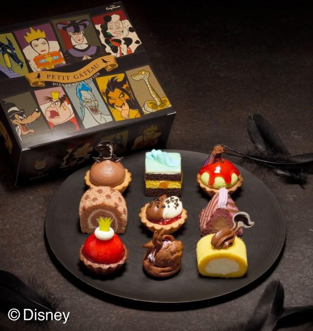 ハロウィンに「ディズニーヴィランズ」のプチケーキはいかが? マレフィセントやハートの女王などの悪役をイメージしてるよ