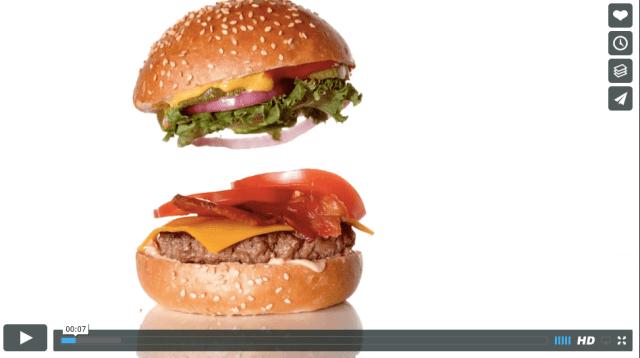 これでCGなしってマジですか!? 「材料が落下して重なり合う」ハンバーガー動画はこうして作られていた!