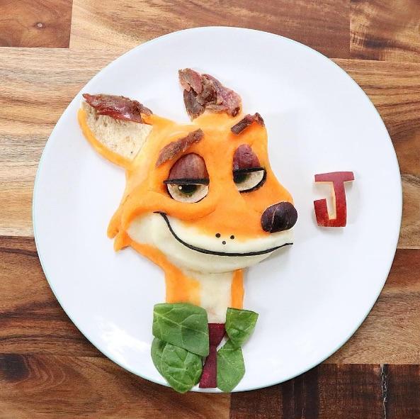 オーストラリアのママが息子のために作った「キャラごはん」が素敵です / 子どもに不人気な食材をとっても可愛く変身させちゃったよ♪