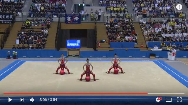 笑いも技術も超一流! 鹿児島実業高校の男子新体操部がインターハイで魅せたハイレベルな演技をご覧ください