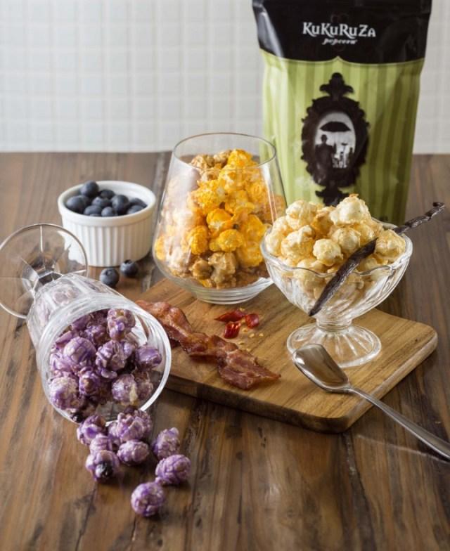 ポップコーン専門店「KuKuRuZa Popcorn」が日本上陸3周年記念してアメリカンな新フレーバー3種類を3週連続発売するってよ〜!