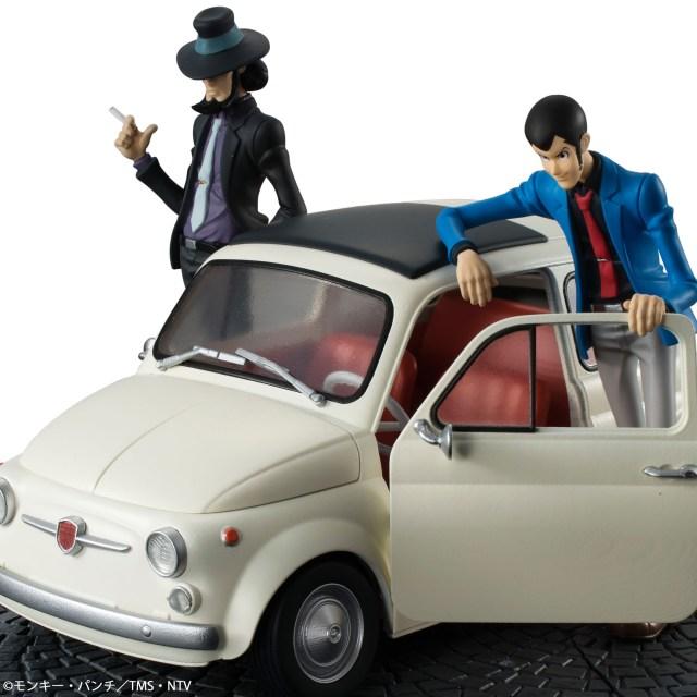 かっこいい! ルパンの愛車がフィギュアになったよ / ルパンと次元がイタリアの街角にいるみたい!!!