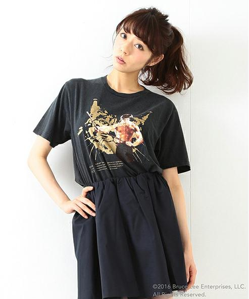 【ギザカワユス】しょこたんのブランド「mmts(マミタス)」がブルース・リーと夢のコラボですって! Tシャツ&ヌンチャクモチーフのアクセサリーが素敵すぎるう♪