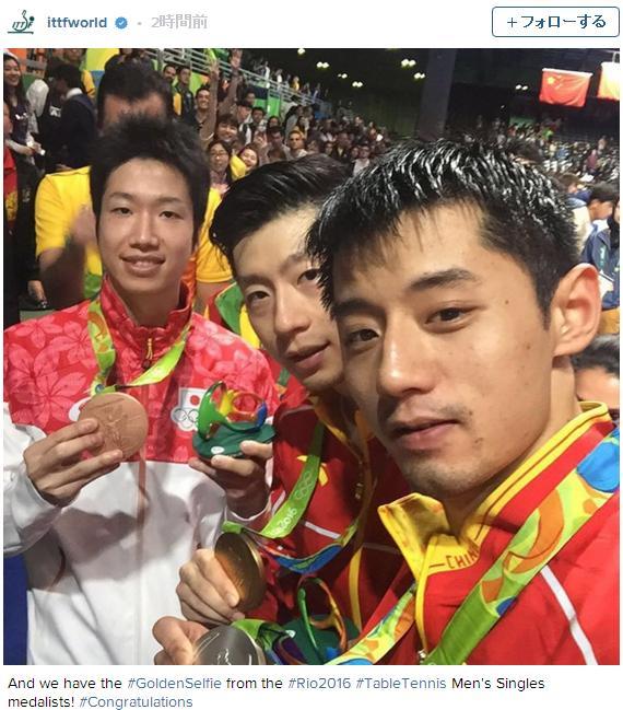 卓球男子シングルス金メダリスト「馬龍」選手がイケメンすぎると話題です 「この顔タイプすぎて惚れた」というネットの声