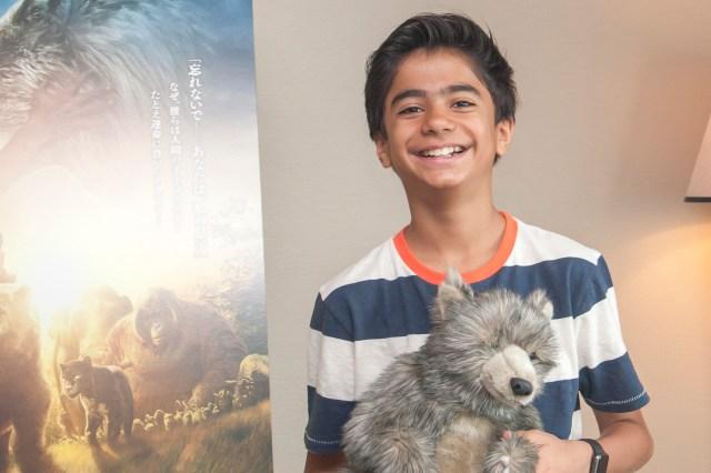 男の子以外は全部CG! 話題の映画『ジャングル・ブック』主演俳優ニール・セディ君に直撃インタビュー「ジャングルはお菓子がいっぱいだったよ」