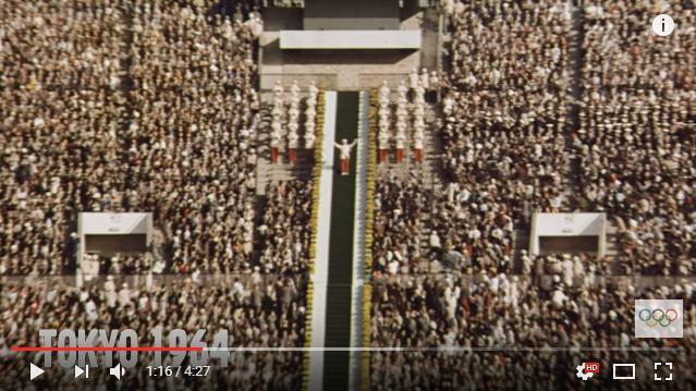 4分30秒で過去のオリンピック開会式の見所ばかりを振り返る / スペクタクルなショーに移り変わっていく変化が感慨深いです