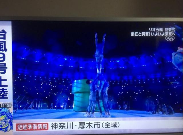 【リオ閉会式】アクロバティックな動きで観客を魅了! おもてなしの舞を華麗に披露した青森大学男子新体操部がカッコよすぎる!!