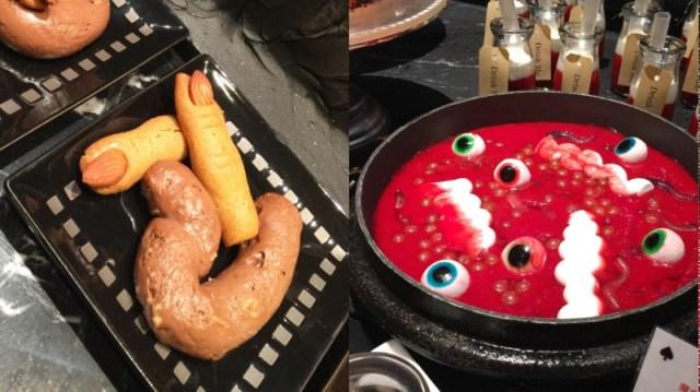 ギリギリのグロさ…? ヒルトン東京のハロウィン・スイーツがめちゃんこ攻めてるッ!!! 「指クッキー」や「魔女の内臓スープ」など