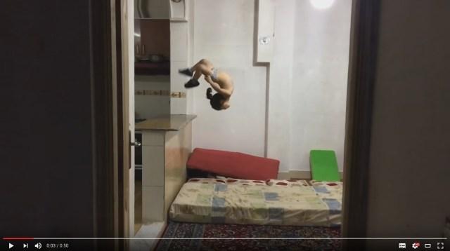 【狙うは2028年五輪!?】5歳の男の子がバク宙をキメる!! 天才少年アラットくんの超絶身体能力に目を奪われる〜っ