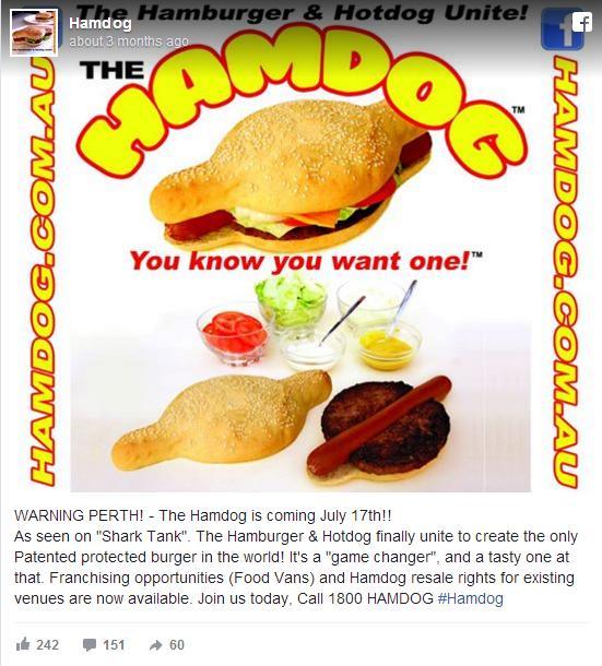 ハンバーガーとホットドッグが合体したらこうなった / オーストラリアの「ハンドッグ」がボリューム満点なのです