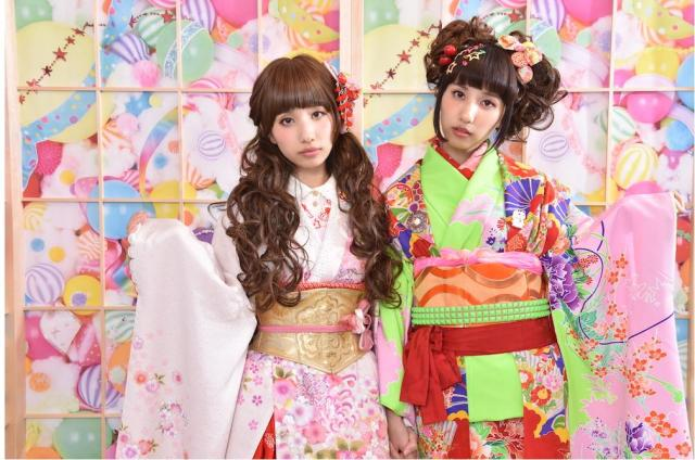 原宿カルチャー×日本伝統文化のコラボ! カラフルポップなオリジナル着物で記念撮影できちゃう写真スタジオがオープンです