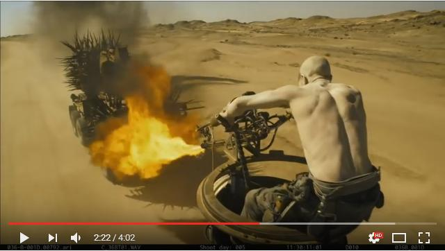 あのシーンもCGじゃなく本当に爆発してた!『マッドマックス怒りのデス・ロード』のド派手でド迫力な撮影の裏側が公開されたよ