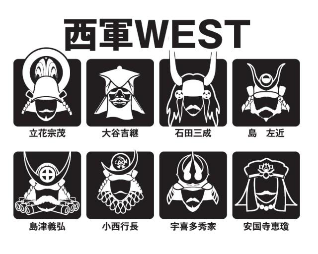 徳川家の末裔も愛用!? 「関ヶ原の戦い」をアイコンで表したTシャツがポップでござる!