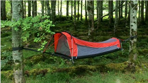ハンモックとしてもテントとしても使える♪ 1つで2度美味しいアイテムCrua Hybridが超便利そう