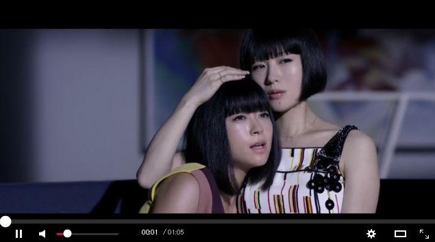【初共演】宇多田ヒカルの新曲MVに椎名林檎が登場してる~!!! 双子みたいな黒髪ボブでめちゃんこかっわいいいい♪