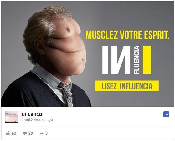 「私たちは情報の過食症だ」 ネット社会を皮肉った広告がショッキング