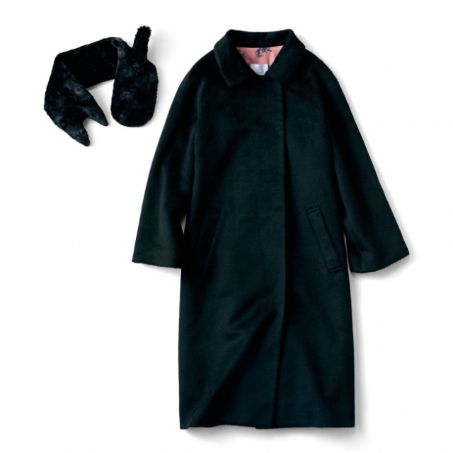 大人女子でも着こなせる「黒猫なりきりコート」がモフっと登場 / 猫の毛っぽいさわり心地で癒されそう〜〜