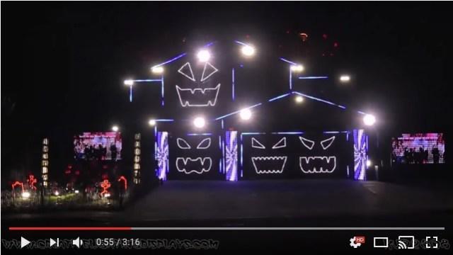 【今年もやるで】ハロウィンのライトアップに命かけすぎてる電飾ハウスがカムバック♪ 昨年以上にすんごいことになってるよ!!