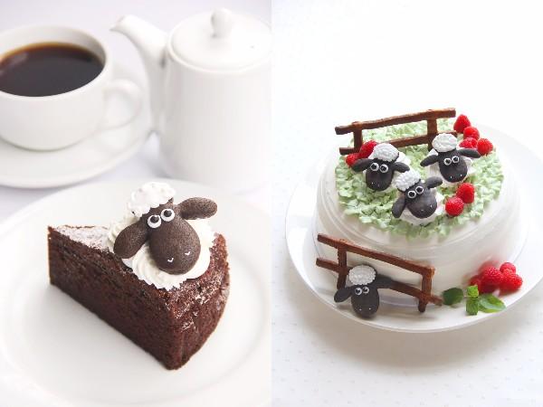 『ひつじのショーン』のコラボカフェが登場♪ ショーンのガトーショコラにショートケーキ…かわいすぎて食べられないってこういうこと!!!