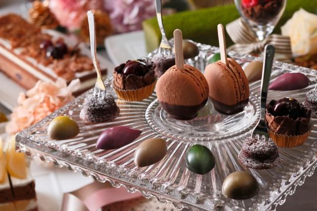 ショコラにハーブやオイルを加えた香り高い本格スイーツが約100種! 京都センチュリーホテルのデザートビュッフェに注目