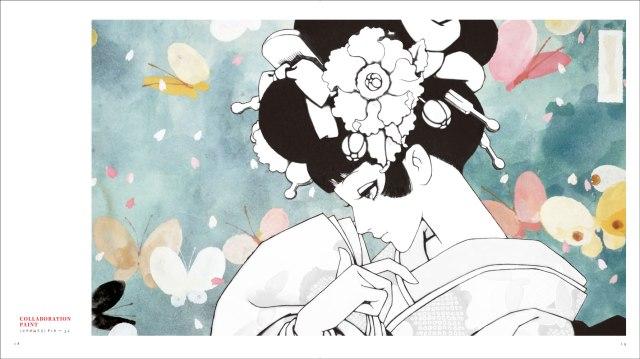 中原淳一の絵に自分で色をぬれるって素敵 / 初めての手法で作られた『中原淳一 名作ぬりえブック』