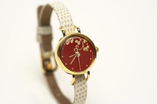 優雅で繊細な日本の美にうっとり…伝統技法を用いた金沢メイドの腕時計がステキすぎ♪