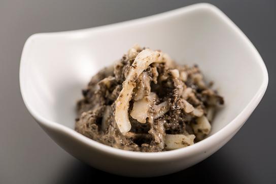 「うどんの塩辛」爆誕!! バーニャカウダにすると激ウマすぎて生野菜がノンストップで食べれちゃうってホント!?