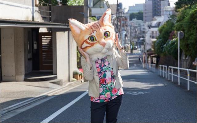 1秒で愛されニャンコに変身できる「リアル猫ヘッド」が爆誕! お値段たったの64万円だよ★