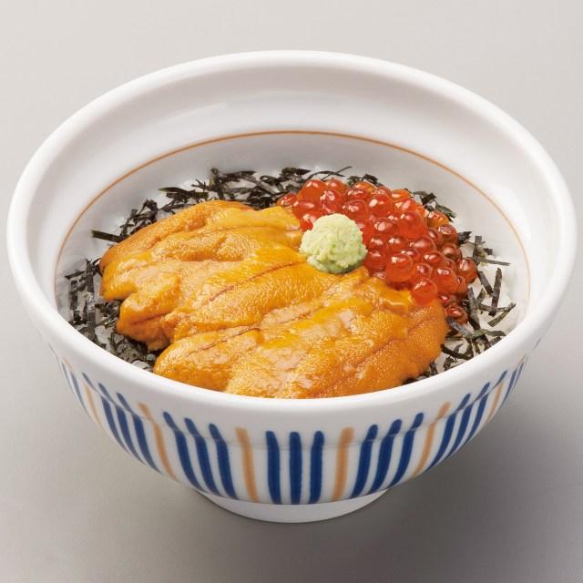 【本日から】なか卯の海鮮シリーズに「生うに丼」が登場したぞぉぉぉ! とろける食感がめっちゃおいしそうっ