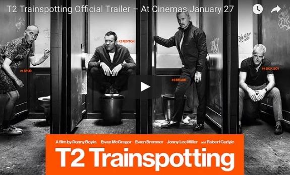 映画『トレインスポッティング』続編の映像とポスターが公開されたよっ 前作を思い出す映像美にワクワクします