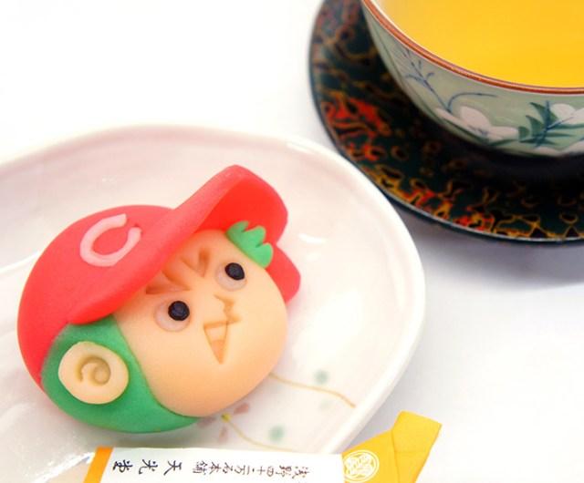 【広島カープ公認】「カープ坊やの練り切り」が可愛い! 広島の老舗和菓子店がひとつずつ手作りしてるんだって