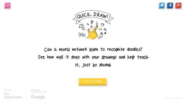 """何を描いた落書きか人工知能が推測する """"Quick, Draw!"""" で遊んでみた → 全然当ててもらえませんでした…"""