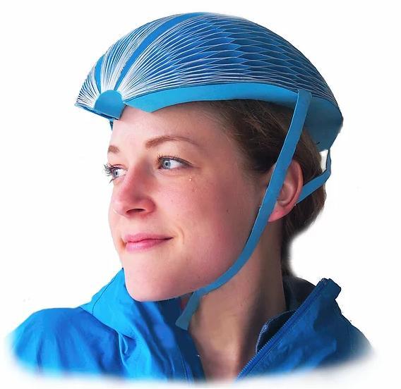 再生紙を利用した防水性「紙ヘルメット」が誕生! テストもクリアして丈夫らしいけど…ほんのちょびっと心配になっちゃう!?
