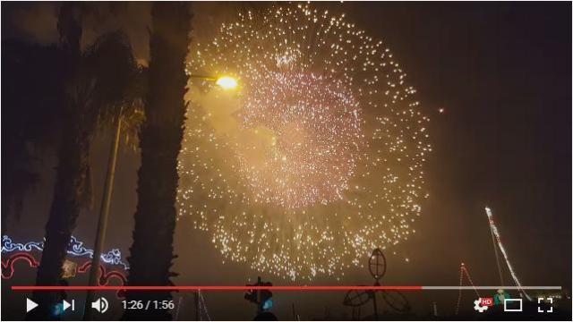 【必見ラスト10秒】世界最大の花火が打ち上げられたマルタ島国際花火大会がすごいよっ
