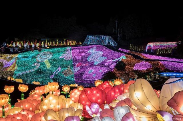 【イルミ2016】伊豆ぐらんぱる公園に体験型イルミネーション 「グランイルミ 」が登場 / アトラクションで遊びながら絶景を楽しめちゃうよ☆