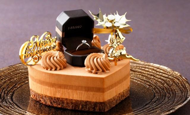 【マジかよ】「プロポーズ専用ケーキ」が誕生!? ケーキの上に婚約指輪をセットすることができるんですってよ…