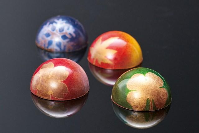 日本の四季を詰め込んだショコラ「彩り」がめちゃんこ美しい / アート作品みたいで食べるのをためらっちゃいそう
