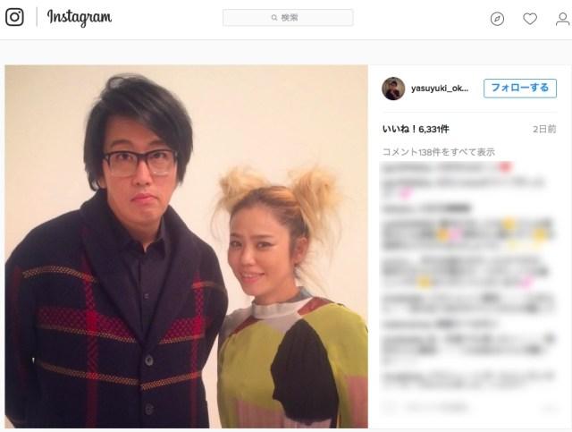 CHARAさんと岡村ちゃんのツーショット写真に「いいね!」した…浅野忠信さん!!! や、別にいいんだけれども