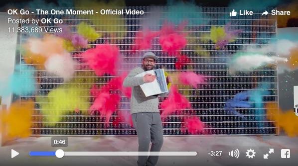 【4.2秒の衝撃】OK Goの新作PV、一発撮りと思えない美麗映像に二度見、三度見必至ですっ