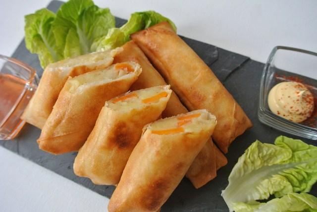 【超リメイクレシピ】ポテサラが余ったらコレ! マヨネーズ会社イチオシの「ポテサラ春巻き」がマジで絶品でした