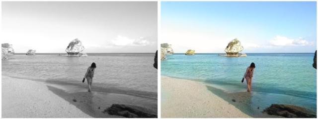 白黒写真をカラー写真に変換するサービスの再現度がすんごいよ! 色々な写真で実験してみました