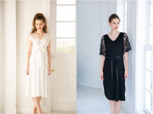 ドレスのような部屋着で気分をアゲてこ♪ ワコールから誕生したルームウェアならぬルームドレスがエレガント