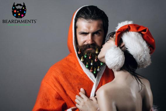 ヒゲのメンズにプレゼントしたい! ヒゲがクリスマスツリーになっちゃうオーナメント