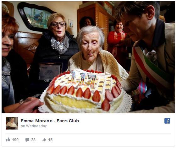 世界一の長寿おばあちゃんが117歳の誕生日を迎えました / 長生きの秘訣は「あまり食べないこと」