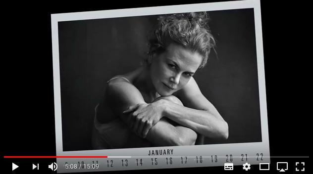 ニコール・キッドマンら14名のセレブが修正ナシのすっぴん写真を公開 / 2017年ピレリ・カレンダーに込められたメッセージとは?