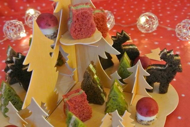 【クリスマスレシピ】フランス流のかわいすぎるクリスマス・サンドイッチ発見♪ …これがけっこう簡単にマネできちゃう! やってみようよ!