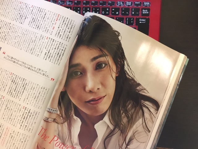 『VOGUE』1月号で吉田沙保里アネキが超華麗に大変身!!! 霊長類最強女子はかくも美しかった