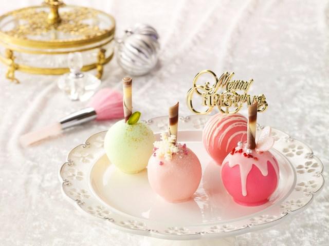 これってクリスマスケーキなの!? キャンディーみたいな「ロリポップル」が品川プリンスホテルに登場♪